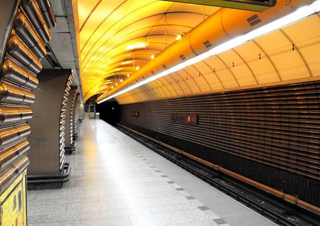 В субботу станцию пражского метро Jinonice закроют на 7 месяцев