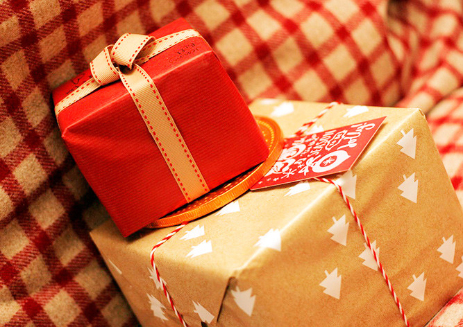 подарок-коробка