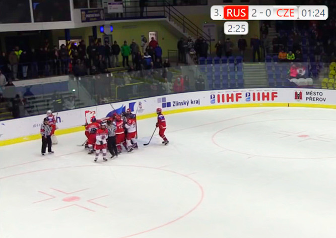 Женская сборная РФ похоккею вышла вчетвертьфинал молодёжногоЧМ (U18)