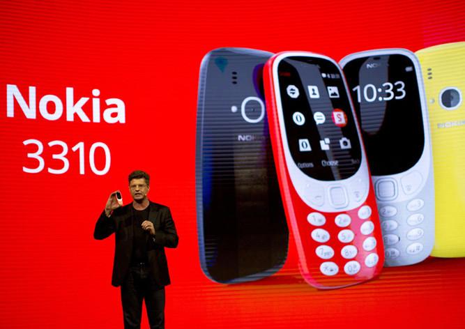 Нокиа показала новую модель телефона 3310— Возвращение легенды