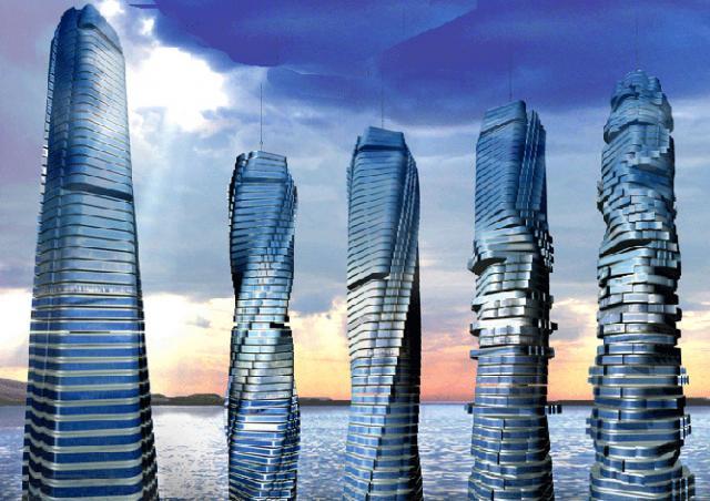 В Дубае построят первый в мире вращающийся небоскреб