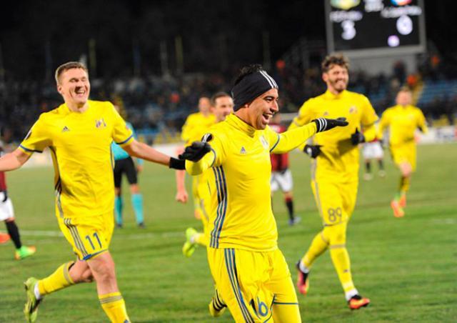 «Ростов» разгромил пражскую «Спарту» в плей-офф Лиги Европы: видео