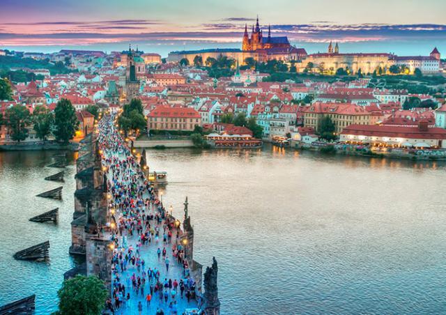 В 2016 году Чехию посетило рекордное число туристов