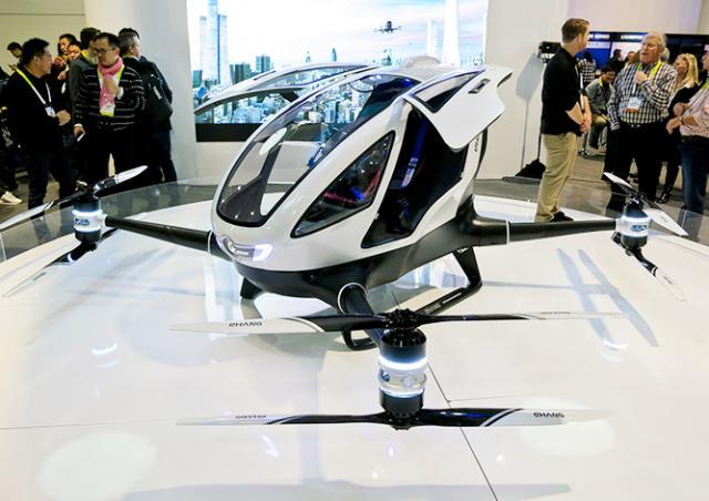 В Чехии начали продавать первый в мире пассажирский беспилотник