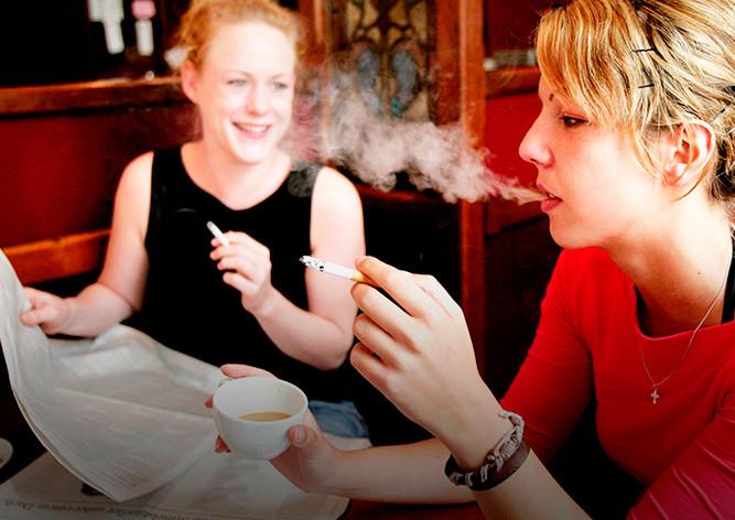 ВЧехии запрещают курение в публичных местах