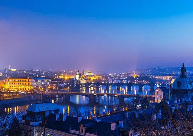 Видео: потрясающая Прага в сверхчетком разрешении 4K