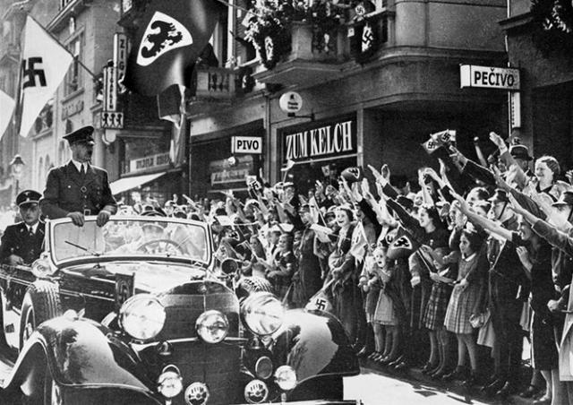 Ровно 78 лет назад нацисты оккупировали Прагу: фото