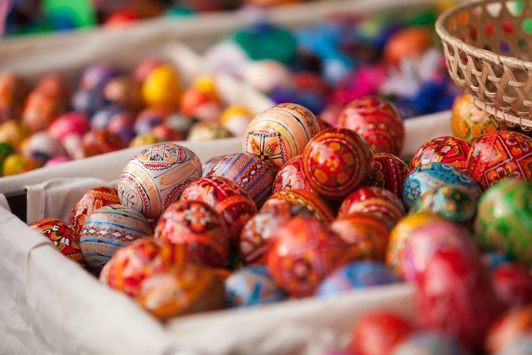 Пасха-яйца