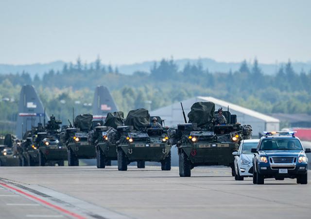 В марте через Чехию проедет военный конвой США