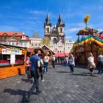 пасха-Прага-ярмарки