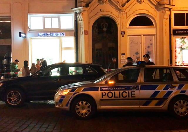 В центре Праги совершен вооруженный налет на ювелирный магазин