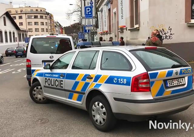 В Праге машина с дипномерами сбила ребенка